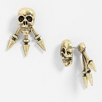 Robert Rose 'Skull Spike' Post Earrings | Nordstrom