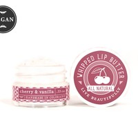Cherry & Vanilla - Whipped Lip Butter - Natural Icing for Your Lips