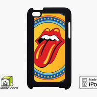Rolling Stone Yellow iPod Touch 4th Case Cover by Avallen