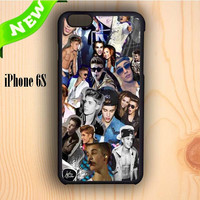 Dream colorful Justin Bieber Collage Photo iPhone 6S Case