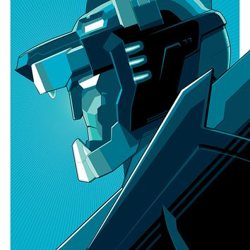 """Blue Voltron"" by Craig Drake"