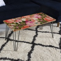 83 Oranges Tropical Flora Coffee Table