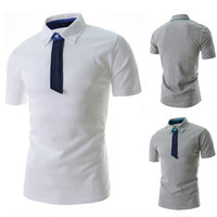 Designer Short Sleeve Men's Polo