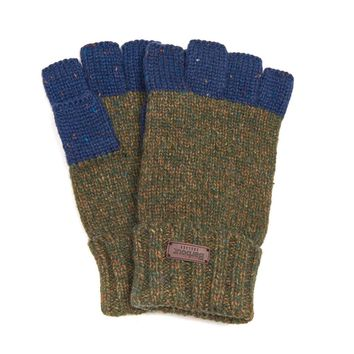 Runshaw Gloves in Olive/Navy by Barbour
