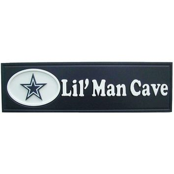 Dallas Cowboys ''Lil' Man Cave'' Sign (Cow Team)
