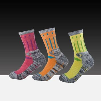 ac DCK83Q Hot Deal Bedroom On Sale Outdoors Sports Socks Winter Thicken Camping Permeable Towel 3 pairs/set [10383520460]