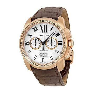 Cartier W7100044 Calibre de Cartier Men's Chronograph Automatic Watch