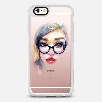 Librarian Girl iPhone 6s case by CRYSTAL CUDDLES | Casetify