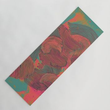 Mind Trip Yoga Mat by duckyb