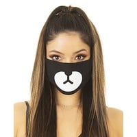 Rave Cub Black Surgical Mask