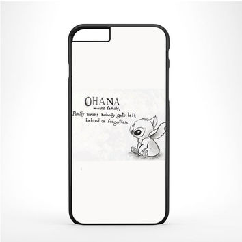 Lilo & Stitch Ohana Means Family Drawing Iphone 6 Plus | 6s Plus Case