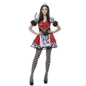 Las Vegas Ladies Queen Of Hearts Cosplay Halloween Costume