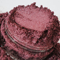 Burlesque Mineral Makeup EyeShadow 5g Sifter Jar Burgandy Red Eye Shadow Petite Size
