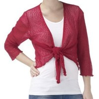 Joe Browns Women`s Popcorn Shrug