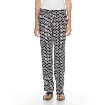 Women's Croft & Barrow® Crepe Soft Pants