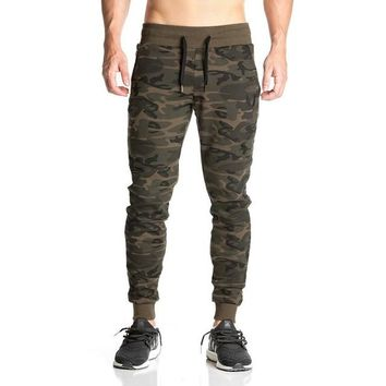 Men's Camouflage Fitness Joggers