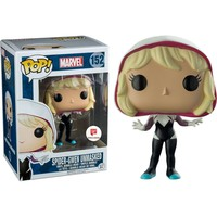 Unmasked Spider-Gwen Marvel Pop! Vinyl Figure #152 Walgreens Exclusive