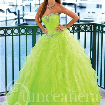 Quinceanera Collection 26761 by House of Wu | Quinceanera Dresses | Quince Dresses | Dama Dresses | GownGarden.com