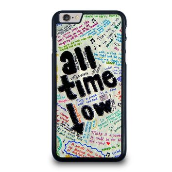 ALL TIME LOW COLOUR iPhone 6 / 6S Plus Case Cover