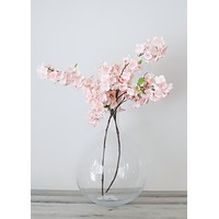 """Artificial Cherry Blossom in Pastel Pink - 44"""" Tall"""