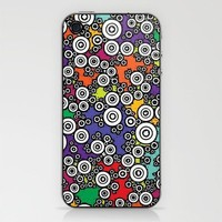 Technicolor Buttons iPhone & iPod Skin by Romi Vega | Society6