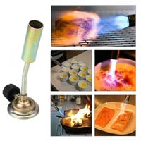 Portable Outdoor Camping Cooking BBQ Gas Flame Butane Gas Fire Torch Lighters