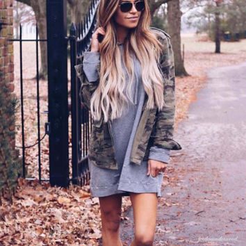 The Laid-Back Sweatshirt Dress