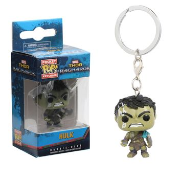 Funko Marvel Thor: Ragnarok Pop! Hulk Key Chain