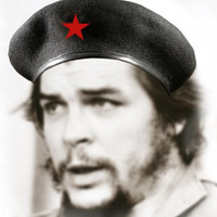 Che Guevara Store Black Military Beret with Red Star