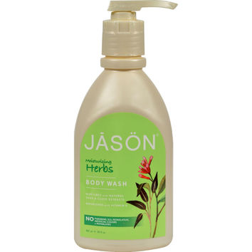 Jason Pure Natural Body Wash Moisturizing Herbs - 30 Fl Oz