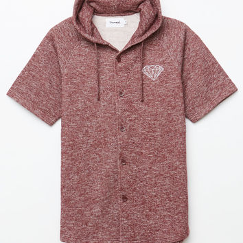 Diamond Supply Co x Garnet Hooded Baseball Jersey at PacSun.com