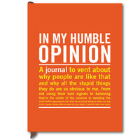 IN MY HUMBLE OPINION INNER-TRUTH JOURNAL