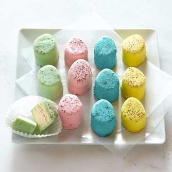 Dragonfly Cakes Speckled Egg Petits Fours