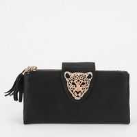Deena & Ozzy Animal Adorn Checkbook Wallet