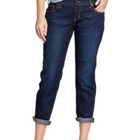 "Women's The Boyfriend Cropped Skinny Jeans (24"")"