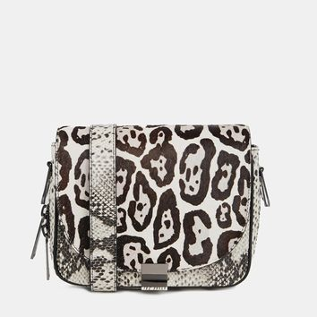 Ted Baker Large Zip Exotic Cross Body Bag