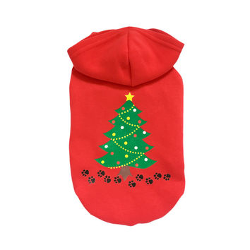 On Sale Hot Deal Shirt Winter Pets Hoodies Cotton Christmas Santa Custome [9199356740]