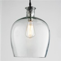Large Carafe Glass Pendant Light - Shades of Light
