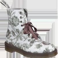Dr. Martens Print pascal 8-Eye Boot GREY TAPESTRY