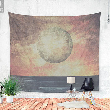 Restless moonchild Wall tapestry