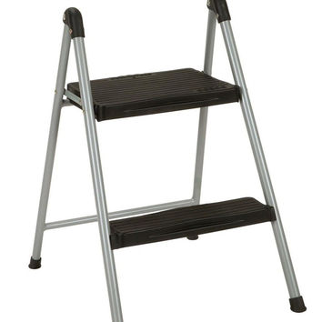 Cosco Dorel Industries Lightweight Folding Steel Step Stool Two Step