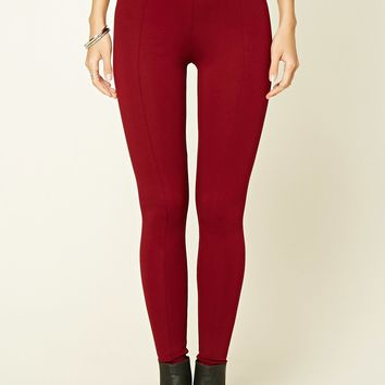 Stretch-Knit Pants