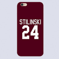 2016 New Teen Wolf Stilinski teen wolf 3 plastic cover black skin phone cover cases for iphone 4 5 5c 5s 6 6s 6plus Hard Shell