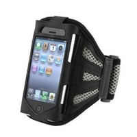 BONAMART ® Arm band Running Sports GYM Armband Case for Apple iphone 5 5G 5th Gray