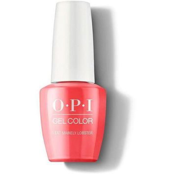 OPI GelColor - I Eat Mainely Lobster 0.5 oz - #GCT30