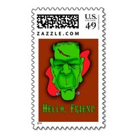 Hello Friend Custom Halloween Invitations