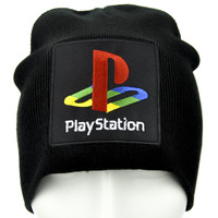 Play Station Gamer Beanie Alternative Clothing Knit Cap