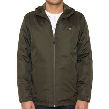 Farah The Rydal Wadded Jacket AW15 - Green