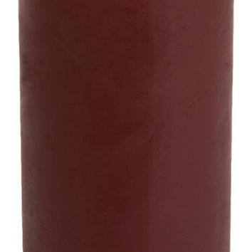 Classic Hurricane Pillar Candles (Pair) | Burgundy