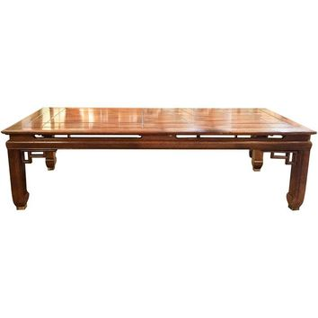 Pre-owned Mid-Century Asian Style Coffee Table